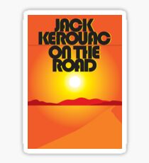 Jack Kerouac - On The Road Sticker