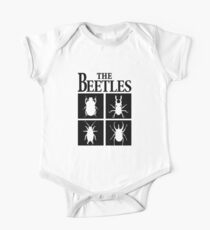 The Beetles  Short Sleeve Baby One-Piece