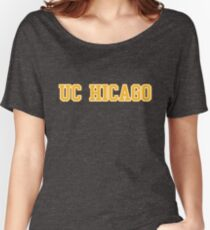 UC Hicago - Yellow Women's Relaxed Fit T-Shirt