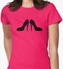 Pumps high heels Womens Fitted T-Shirt
