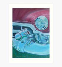 Cadzilla 1953 Cadillac Series 62 Convertible Art Print