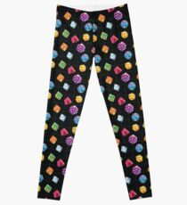 Dungeon Master Dice Leggings