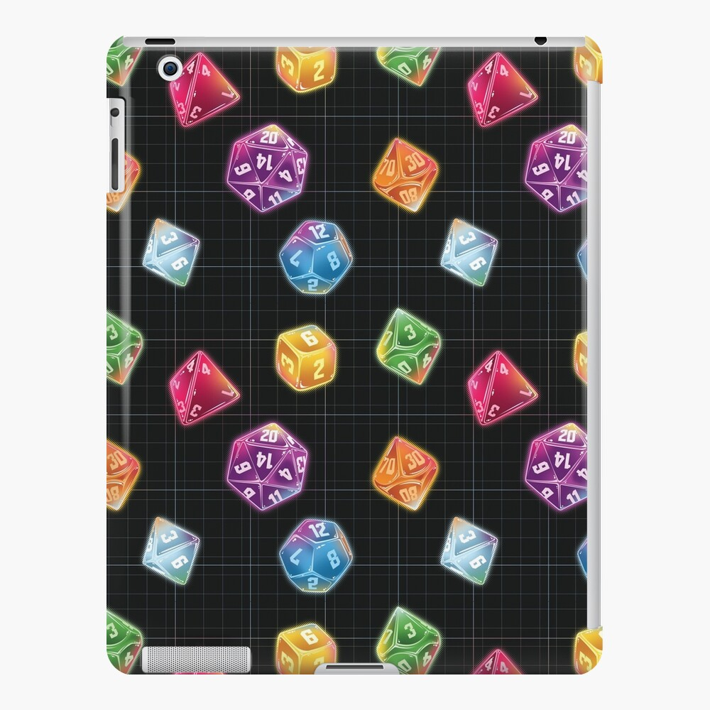 Dungeon Master Dice iPad Case & Skin