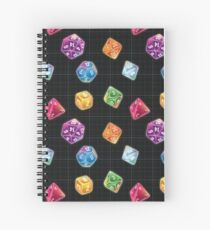 Dungeon Master Dice Spiral Notebook
