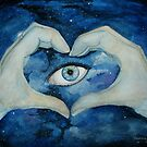 I Love You - Eye In The Sky by Tracie Wayling