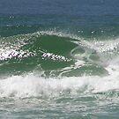 Coastal Wave by Hummingbyrd