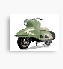 Retro scooter Metal Print