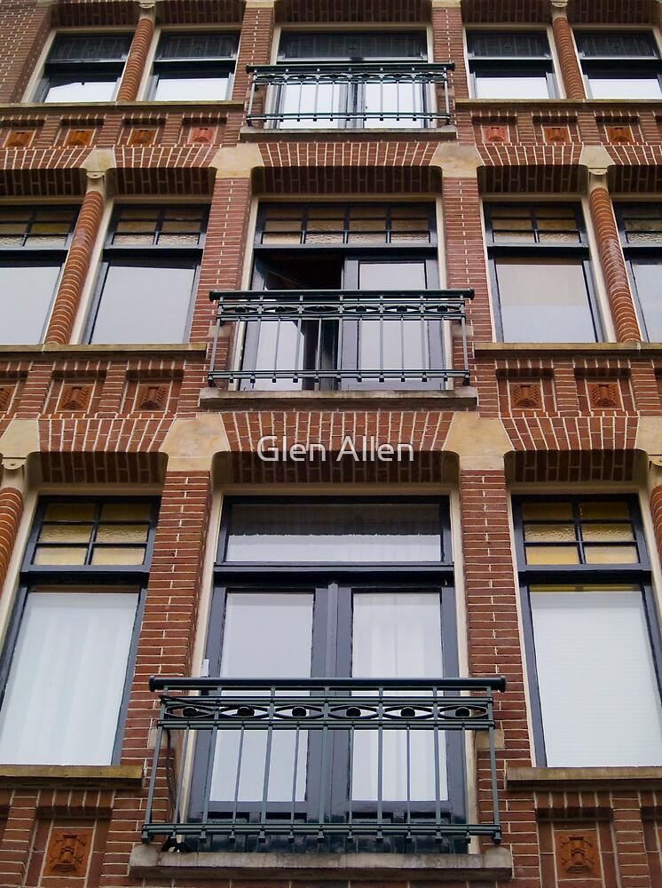 Amsterdam Windows by Glen Allen