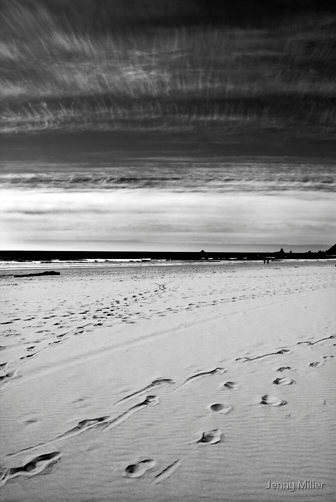 A Walk on the Beach by Jenny Miller