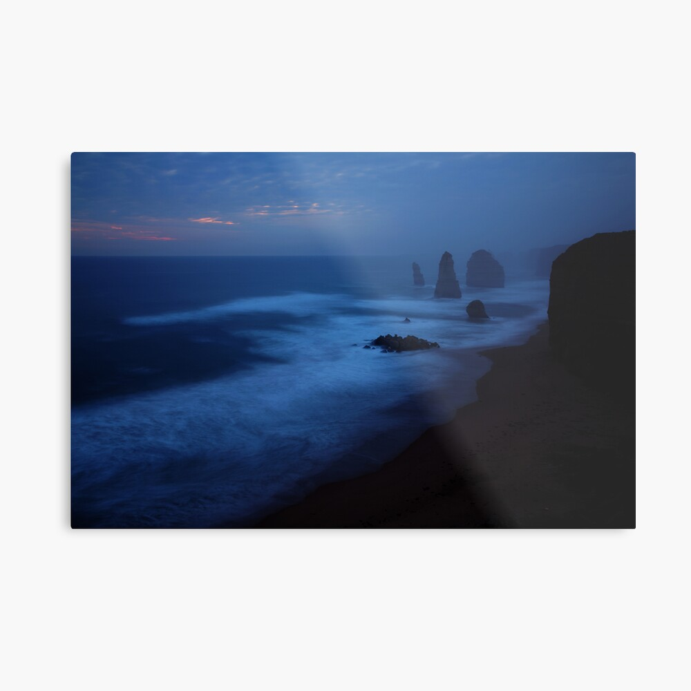 The Twelve Apostles, Dusk, Great Ocean Road, Australia Metal Print