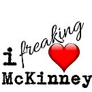 I Love McKinney Texas by texashandmade