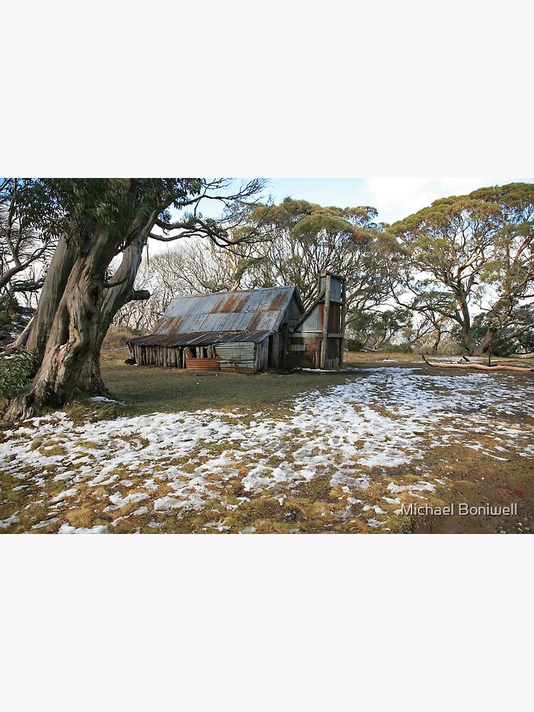 Wallace Hut, Falls Creek, Australia by Chockstone
