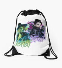 Sisters - WickedQueen Drawstring Bag