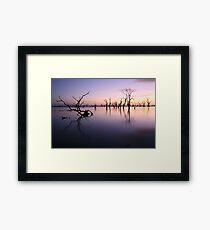 Lake Victoria Pre-Dawn, Australia Framed Print