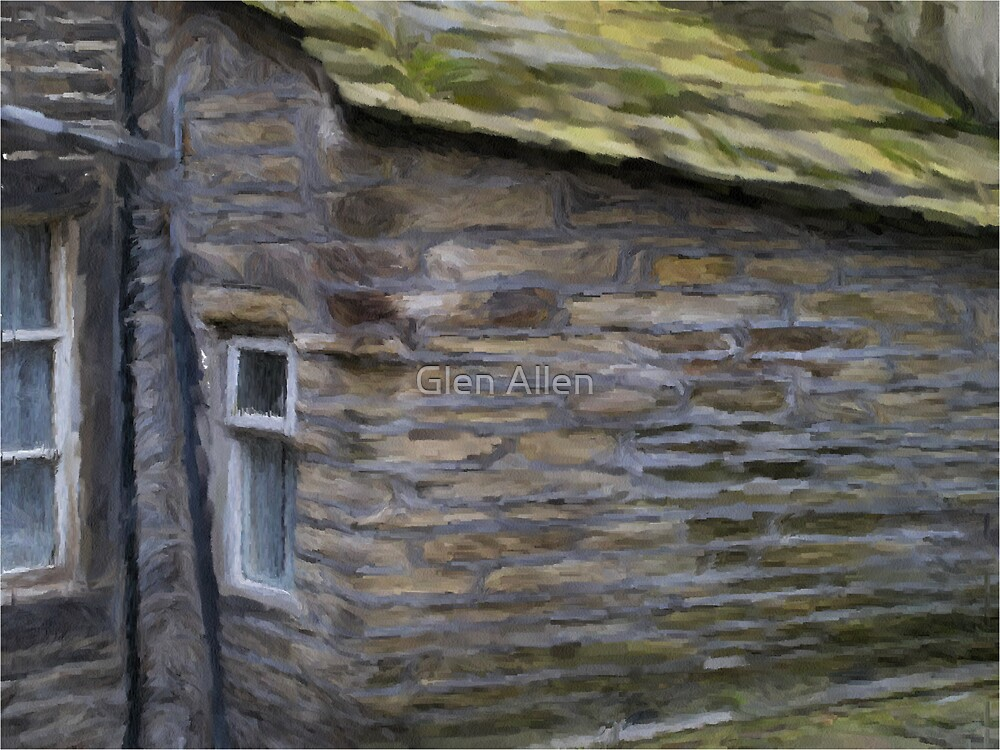 Cottage Wall by Glen Allen