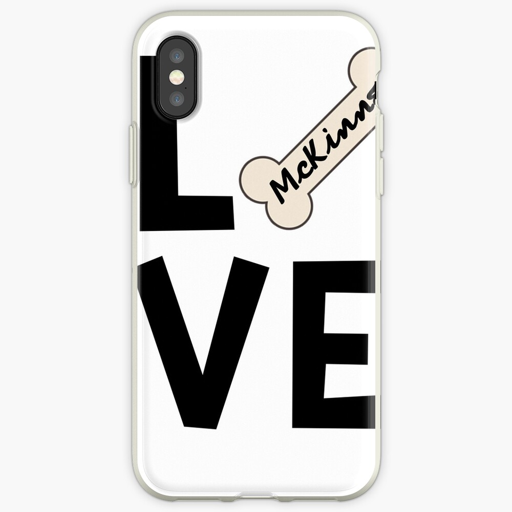 McKinney Texas Dog Lover iPhone Cases & Covers