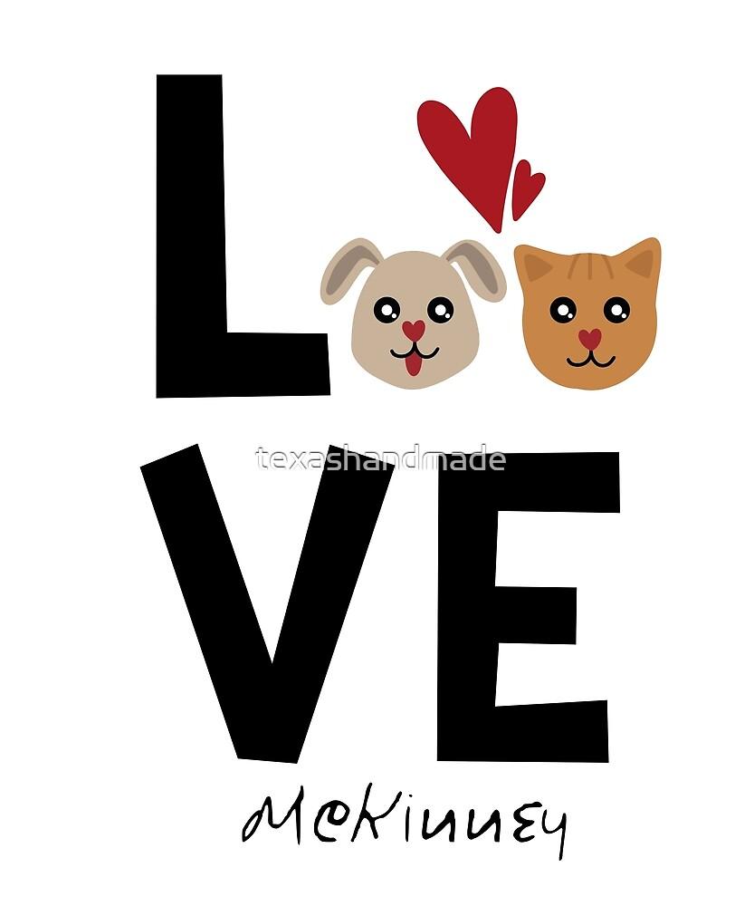McKinney Texas Dog Lover by texashandmade