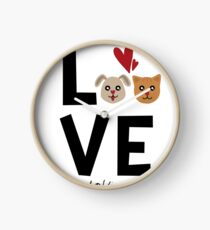 McKinney Texas Dog Lover Clock