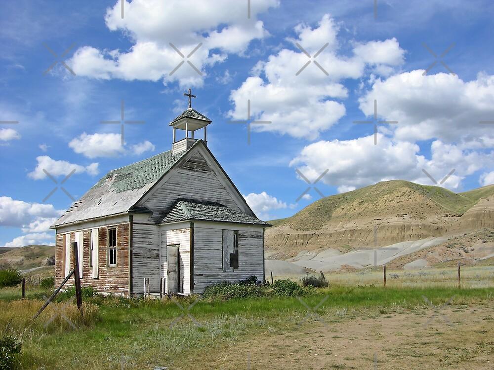 A Country Church by Brian R. Ewing