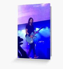 Foo Fighters Greeting Card