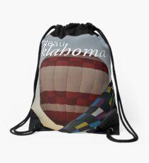 Poteau Hot Air Balloons Drawstring Bag