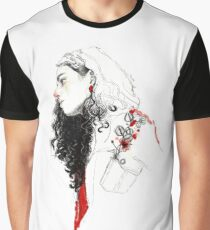 GUARDA TUS FLORES / ELENA GARNU Graphic T-Shirt
