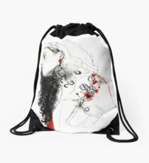 GUARDA TUS FLORES / ELENA GARNU Drawstring Bag