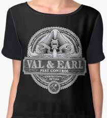 Val & Earl, Pest Control Chiffon Top