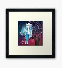 Shizuko - Winter Sprite -2018 Framed Print