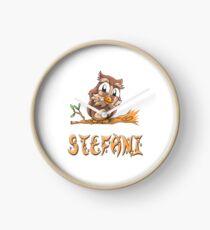 Stefani Owl Clock