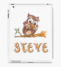 Steve Owl iPad Case/Skin
