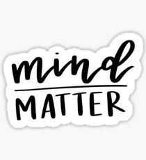Mind / Matter Sticker