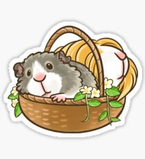Basket of Pigs Sticker