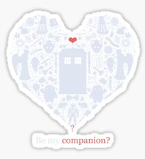 Be my companion? Sticker