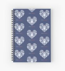 Be my companion? Spiral Notebook