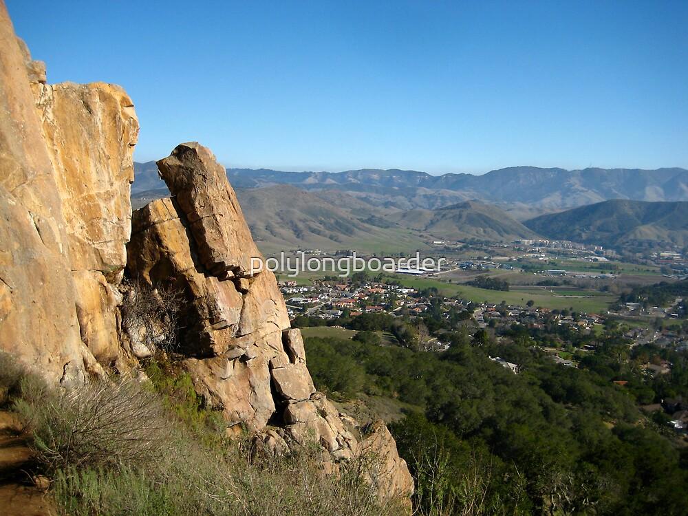 Rock Formation - Bishop's Peak  by polylongboarder