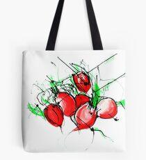 Radishes Tote Bag