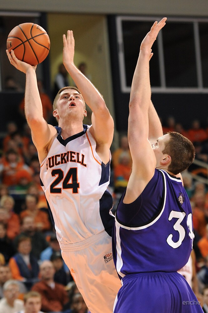 Bucknell Bison Basketball vs Holy Cross by enche