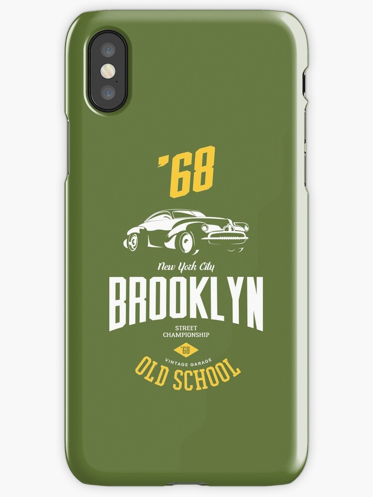 Brooklyn Old School Retro Car Vintage by Sven Horn