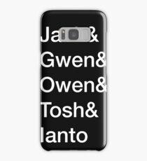 Torchwood Team - Minimalist Samsung Galaxy Case/Skin