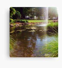Water spout Canvas Print