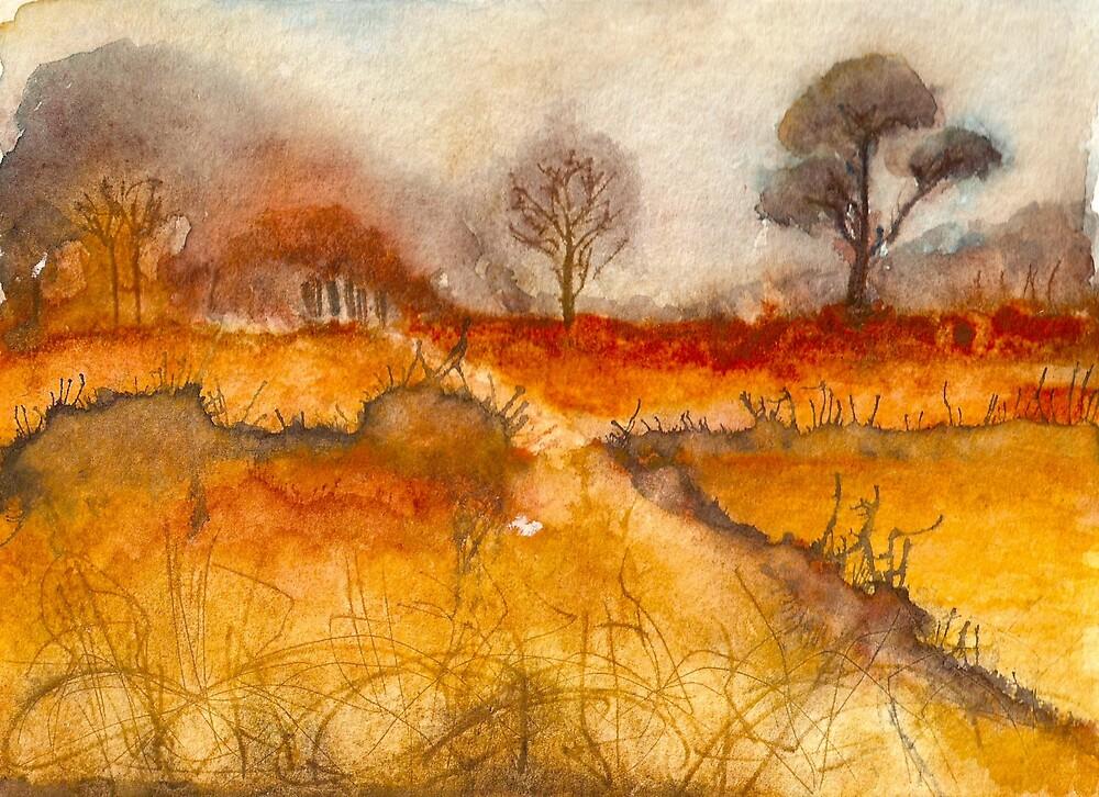 Trees II by Manda Ward