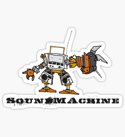 Sound Machine Sticker