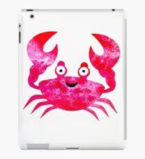 Cartoon Crab iPad Case/Skin