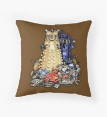 THE BEST terminator in the Universe Throw Pillow