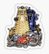 THE BEST terminator in the Universe Sticker