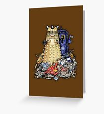 THE BEST terminator in the Universe Greeting Card