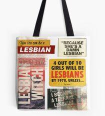 Lesbian Propaganda  Tote Bag