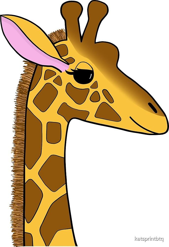 Georgia the Giraffe by katsprintbtq