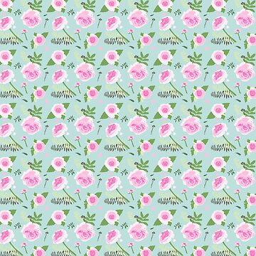 Roses Pattern by heartlocked